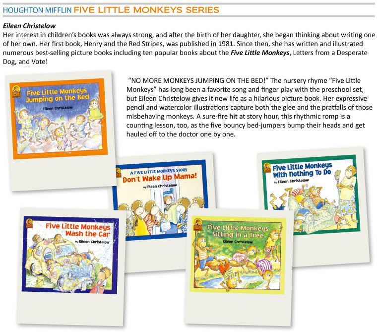 Readers - Five Little Monkeys